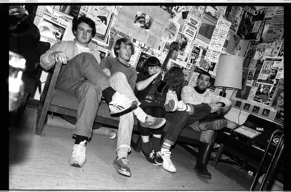 The Evaporators in 1990